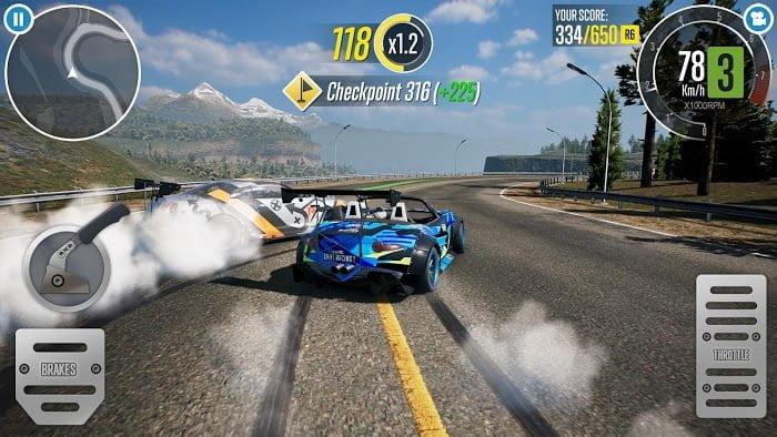 Hack CarX Drift Racing 2 MOD APK IOS Tieng viet