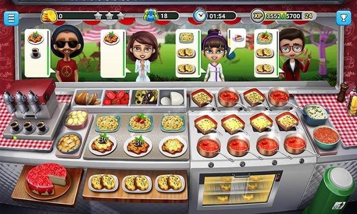 Hack Food Truck Chef MOD TienCrystals Mien phi