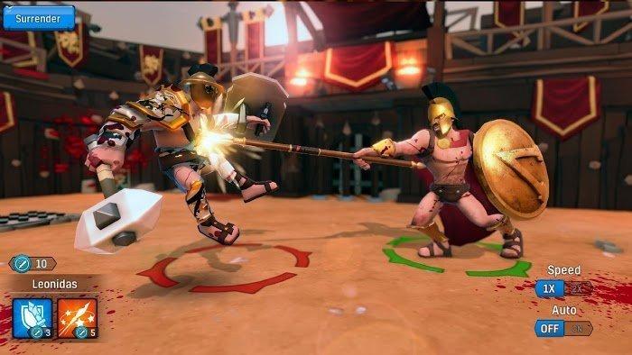 Hack Gladiator Heroes MOD Free Mua samSkill Points Crack