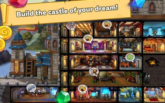 Hack Hustle Castle Fantasy Kingdom Tieng viet