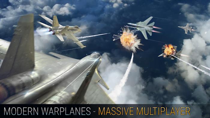Hack Modern Warplanes MOD Vo han Dan Viet hoa