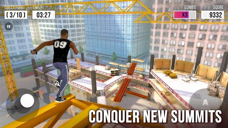 Hack Parkour Simulator 3D MOD Vo han Respects Tieng viet
