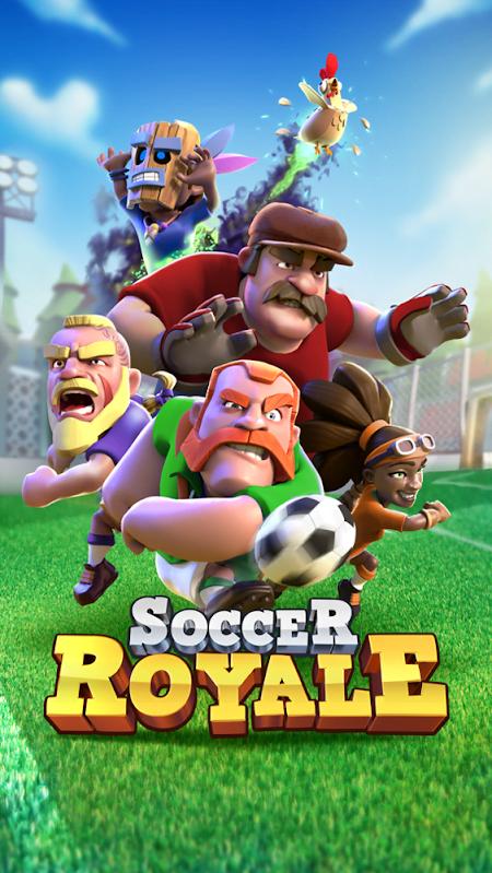 Hack Soccer Royale Clash Games MOD APK IOS Mien phi