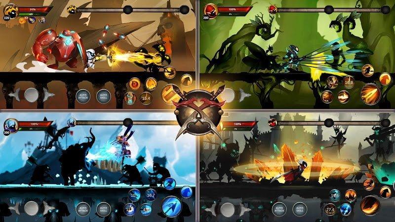 Hack Stickman Legends Shadow Of War Fighting Games MOD Crack