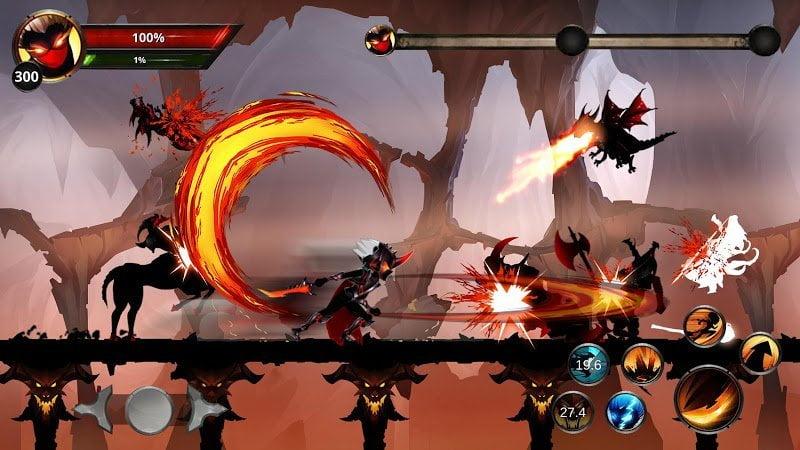 Hack Stickman Legends Shadow Of War Fighting Games MOD Moi