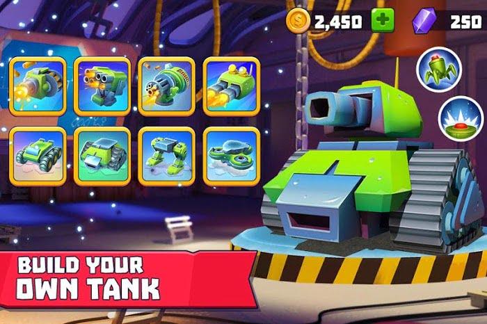 Hack Tanks A Lot MOD Vo han DanNo Reload Mien