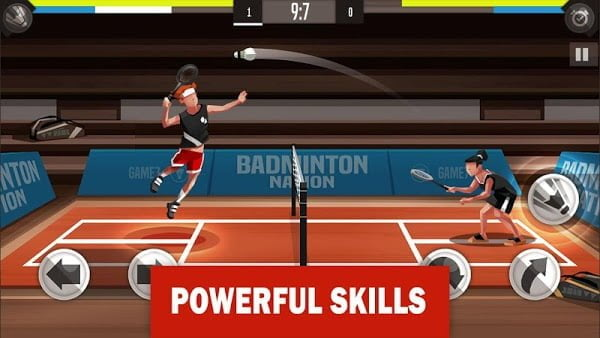 Hack game Badminton League MOD Free Mua sam Tieng viet
