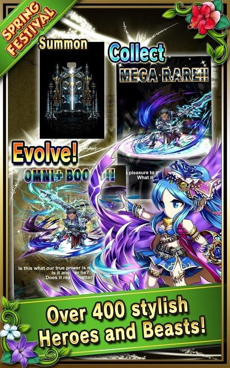 Hack game Brave Frontier MOD Multi Features Mien phi