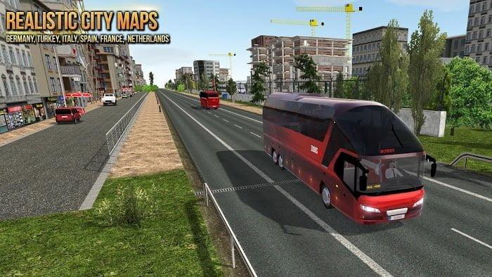 Hack game Bus Simulator Ultimate MOD APK IOS Tieng viet
