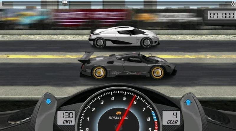 Hack game Drag Racing MOD APK IOS Viet hoa