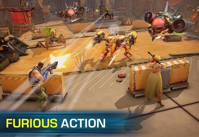 Hack game Evolution 2 Battle for Utopia MOD High DamageGod