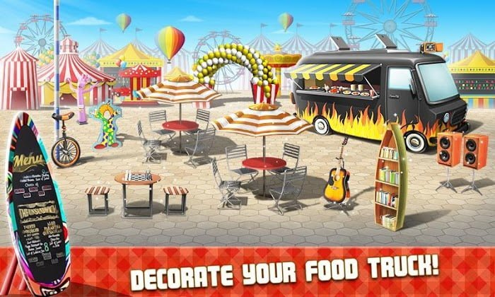 Hack game Food Truck Chef MOD TienCrystals Crack