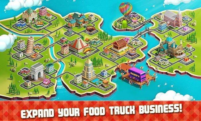 Hack game Food Truck Chef MOD TienCrystals Viet hoa