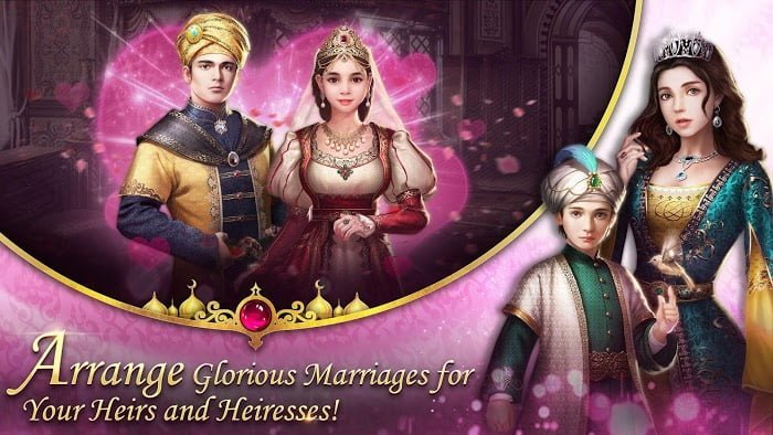 Hack game Game of Sultans Viet hoa