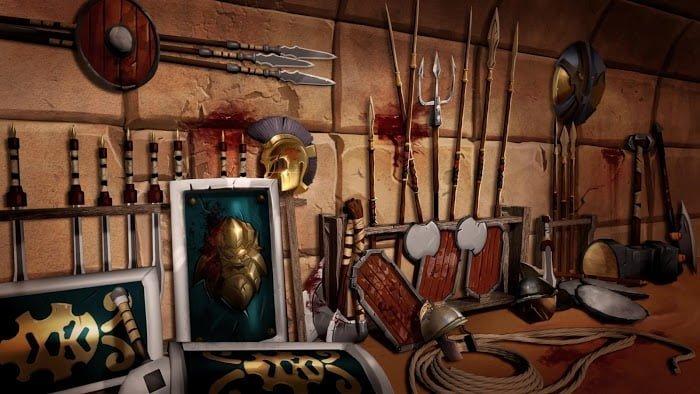 Hack game Gladiator Heroes MOD Free Mua samSkill Points Tieng