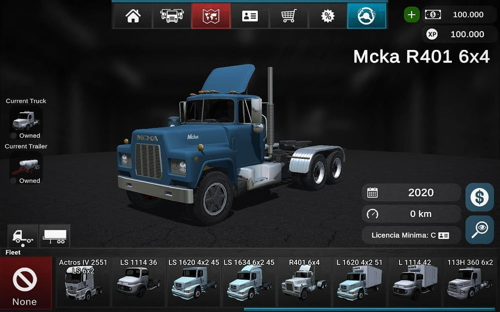 Hack game Grand Truck Simulator 2 v1017 MOD APK Vo