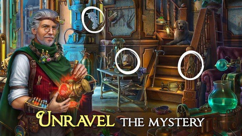 Hack game Hidden City Hidden Object Adventure MOD Vo han