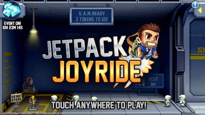 Hack game Jetpack Joyride MOD Vo han Tien xu Moi