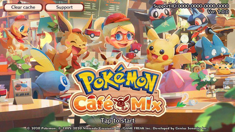Hack game Pokemon Cafe Mix MOD Ios Apk Viet hoa