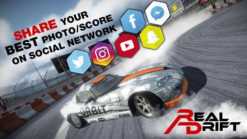Hack game Real Drift Car Racing MOD APK IOS Crack
