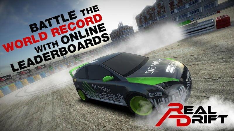 Hack game Real Drift Car Racing MOD APK IOS Mien