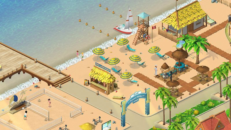 Hack game Resort Hotel Bay Story MOD Many Features Viet