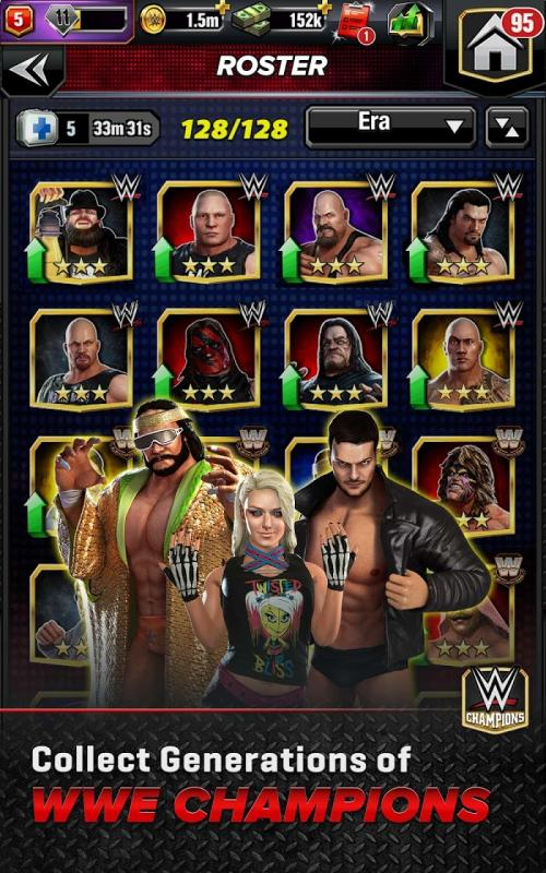 Hack game WWE Champions 2020 MOD DamageNo Skill CD Tieng