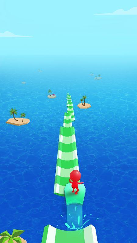 Hack game Water Race MOD GemsMo khoa Song Crack