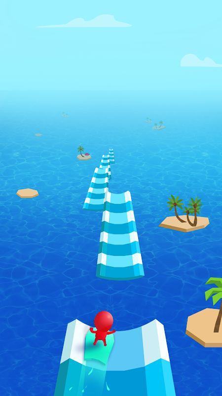 Hack game Water Race MOD GemsMo khoa Song Tieng viet