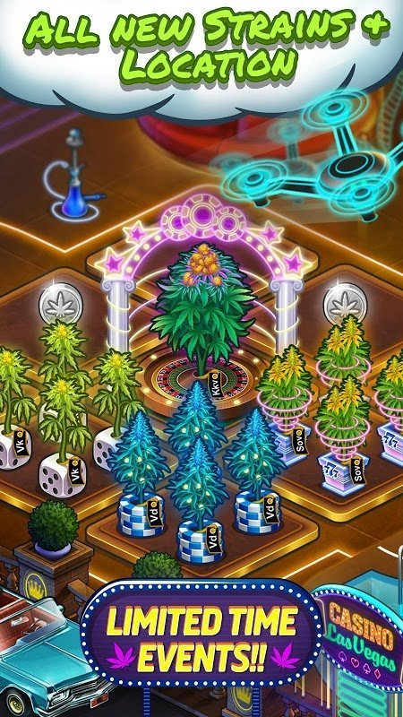 Hack game Wiz Khalifas Weed Farm MOD Vo han Currency