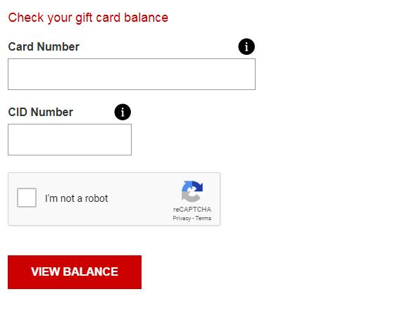 Kiểm tra số dư thẻ quà tặng của bạn