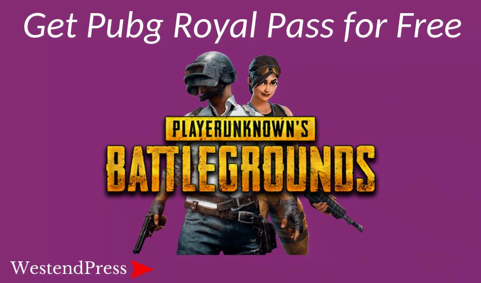 Nhận thẻ hoàng gia PUBG miễn phí