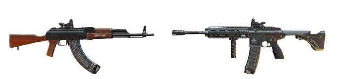 PUBG Mobile kết hợp súng tốt nhất Erangel