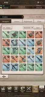 Danh sách cấp Sinoalice Danh sách vũ khí Danh sách nhân vật