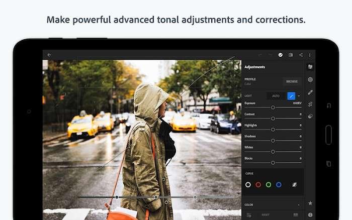 Tai Adobe Lightroom CC MOD Premium Mo khoa IOS APK