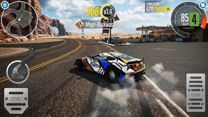 Tai game CarX Drift Racing 2 MOD APK IOS Tieng