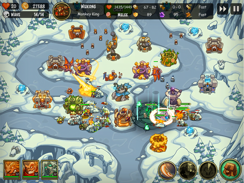 Tai game Empire Warriors TD Premium MOD APK IOS Crack