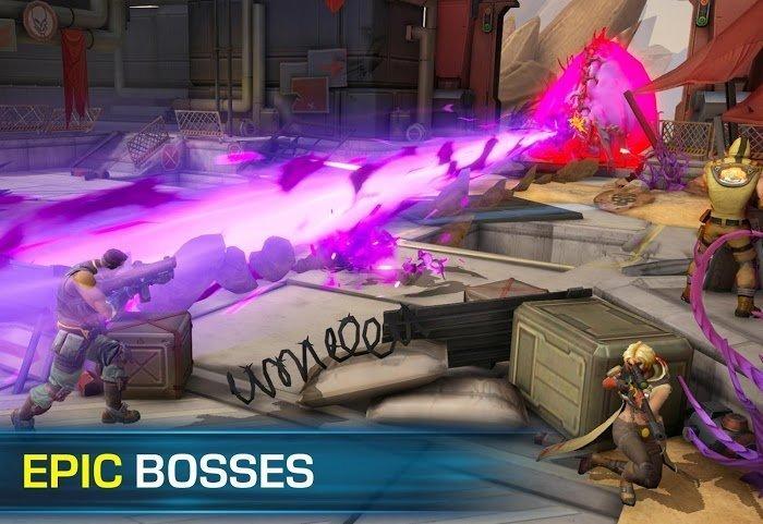 Tai game Evolution 2 Battle for Utopia MOD High DamageGod