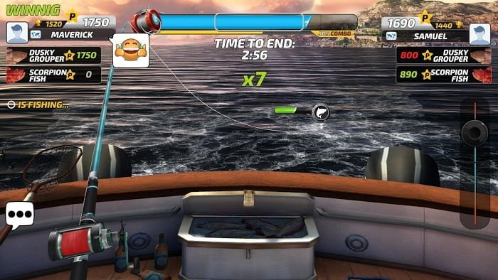 Tai game Fishing Clash MOD Easy ComboAuto Catch Viet hoa