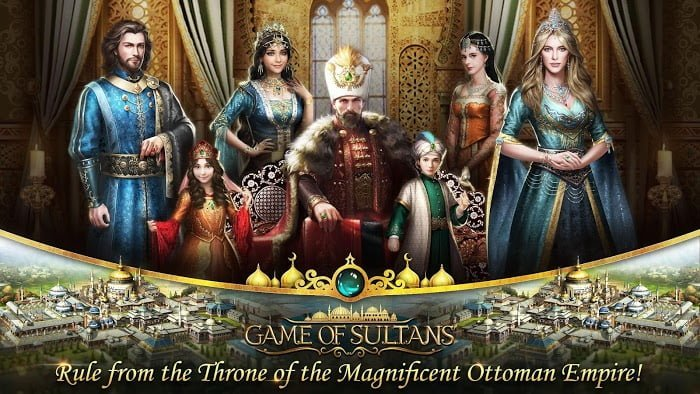 Tai game Game of Sultans Tieng viet