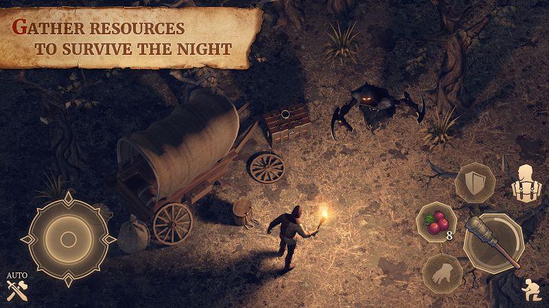 Tai game Grim Soul Dark Fantasy Survival MOD Tieng viet