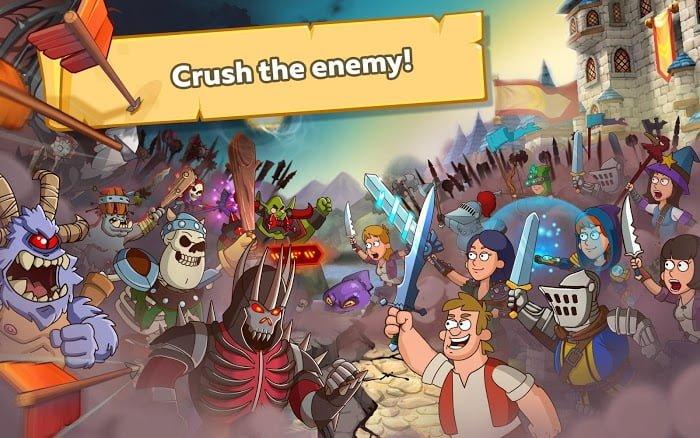 Tai game Hustle Castle Fantasy Kingdom Moi nhat