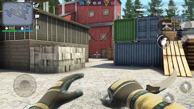 Tai game Modern Ops – Online FPS MOD RadarSpeed Moi