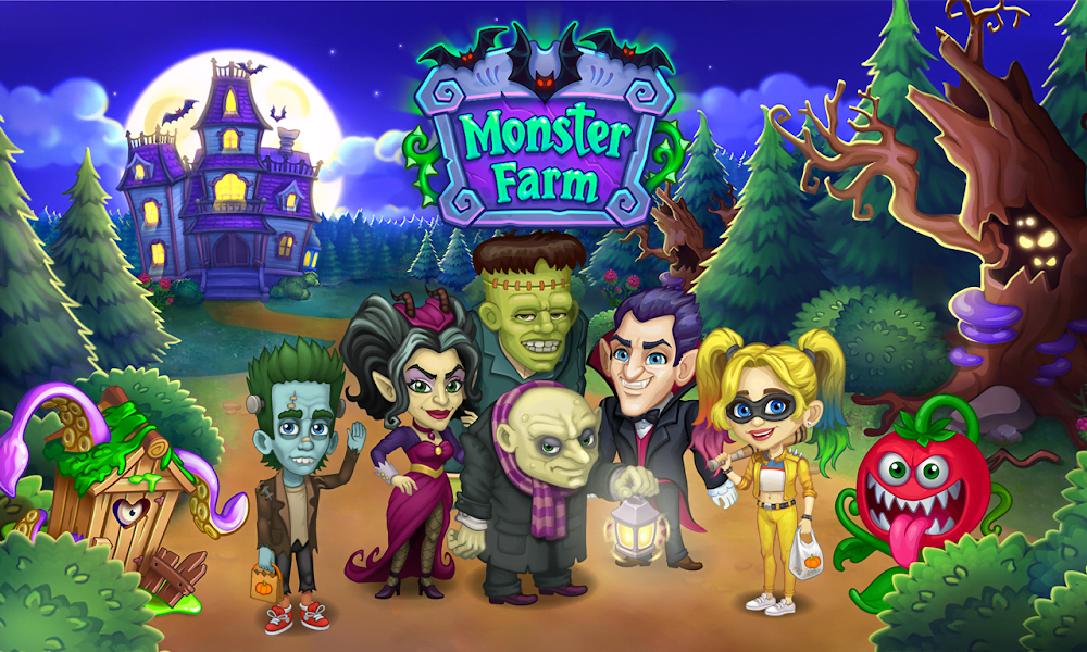 Tai game Monster Farm MOD Free Mua sam Crack