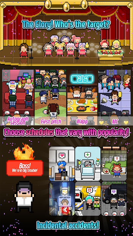 Tai game Monthly Idol MOD APK IOS Tieng viet