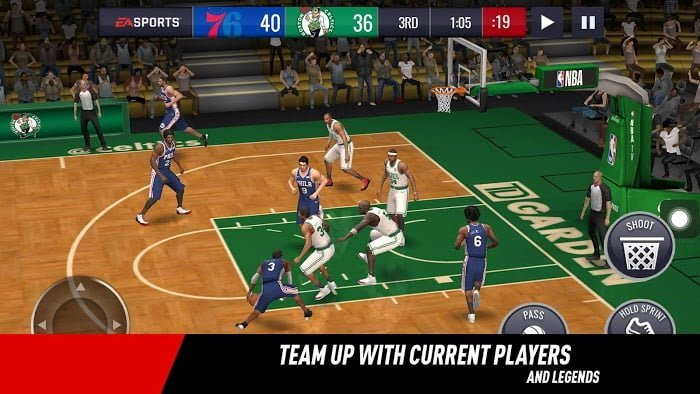 Tai game NBA LIVE Mobile Basketball Crack
