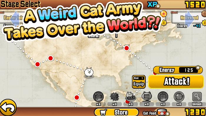 Tai game The Battle Cats APK IOS Viet hoa