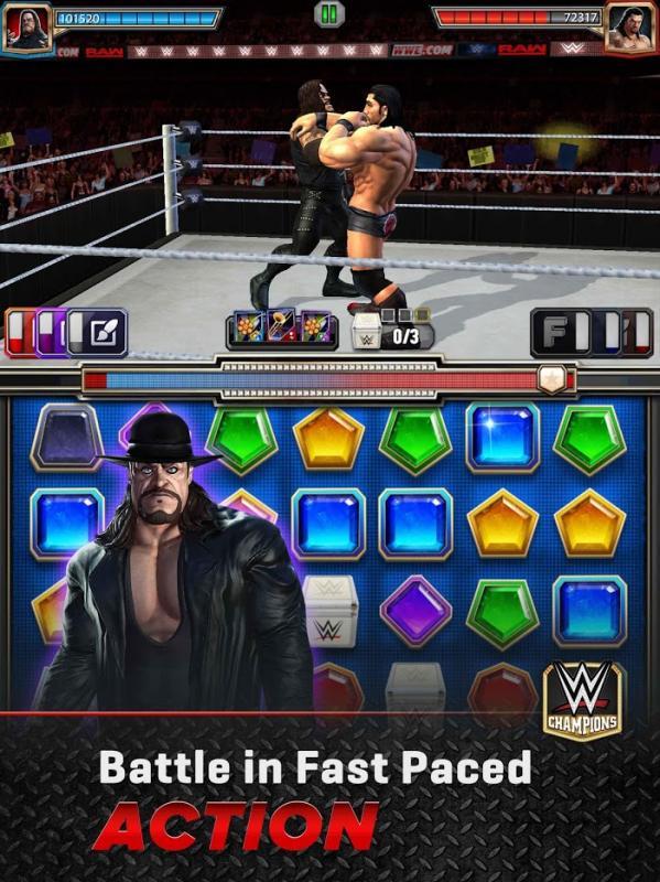 Tai game WWE Champions 2020 MOD DamageNo Skill CD Mien