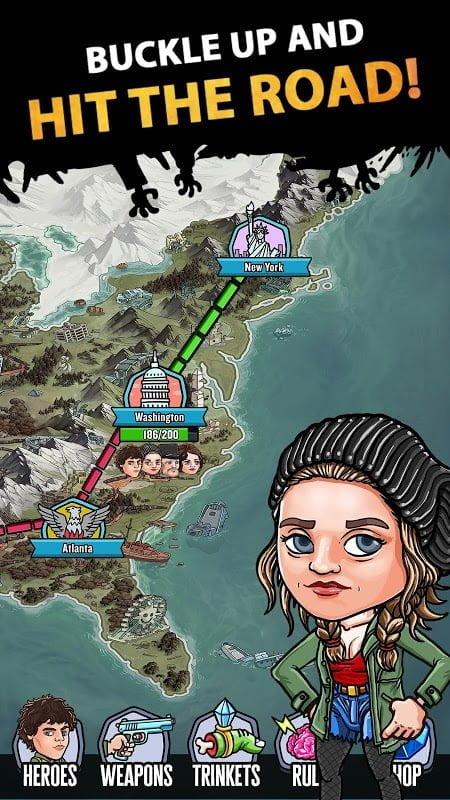 Tai game Zombieland Double Tapper MOD APK IOSGod Viet hoa