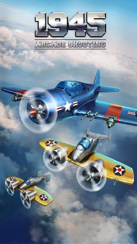 Tai hack 1945 Air Forces MOD Unlimited Money